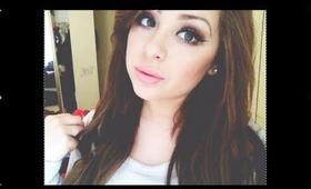 My Everyday Makeup Tutorial - Eyes, Contour, Blush, etc
