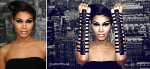 Hair // Makeup // Photography by me. Model: UK-based singer/songwriter Sunday Wonder