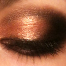 Black & Gold/Copper Eye