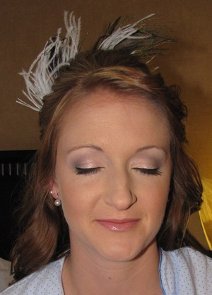 Makeup by me on one of my brides(: