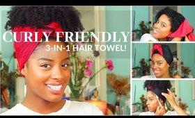 Multi-purpose Curly Friendly Hair Towel! | Qimistri