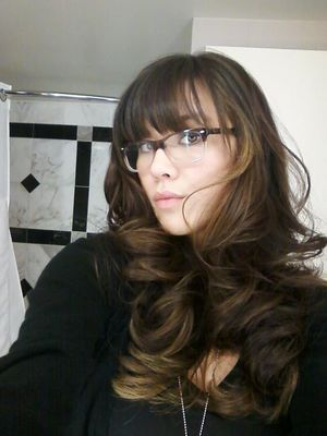 My sinfully sexy hair done by Campbell at Cristophe Salon Las Vegas, here's our How-To video/ http://bit.ly/Nj7IM4 !!