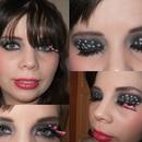 Polka Dot Eyemakeup!