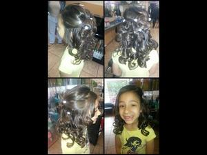 I love the hair style