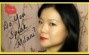 Do You Speak Milani? Winged Liner & Red Lips + Giveaway!