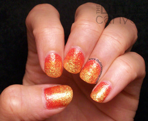 Used the Pixie Dusts to make this gradient after seeing a post by Fashion Polish - http://www.thelittlecanvas.com/2013/05/zoya-pixie-dust-fire-gradient-nails.html