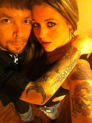 We love our ink....together, forever <3