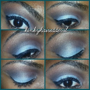 look using my coastal scents mirage palette. this palette is GORGEOUS!