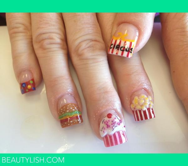 Circus Nails Nika Bs Photo Beautylish