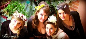 my friend Margot makes the head pieces ! please take a look at her facebook page :) http://www.facebook.com/flowerpowa09?fref=ts