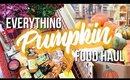SHOP WITH ME : HUGE FALL GROCERY HAUL :  TRADER JOES PUMPKIN FOOD FAVORITES  2018 | SCCASTANEDA