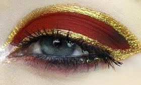 Iron Man 3 Inspired Makeup Tutorial.. Or Failtorial?