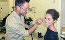 Mathias Alan Makeup & Hair Artist - Celebrity Red Carpet Editorial Behind the Scenes