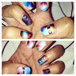 NCLA's Galaxy Nail Patch