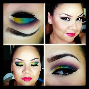 Using inglot and mac eyeshadows :)