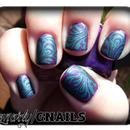 Purple & Blue Swirl