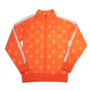 Safety Orange Track Jacket