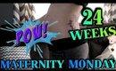 24 Weeks Pregnant Belly & BumpDate | Caitlyn Kreklewich