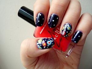 florals & polka dots