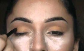 Makeup Tutorial: Holiday Golden Eyes