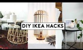 DIY IKEA HACKS (Affordable + EASY) 2019 | Nastazsa