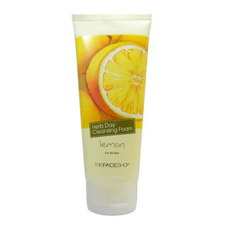 The Face Shop Herb Day Cleansing Foam - Purifying Lemon