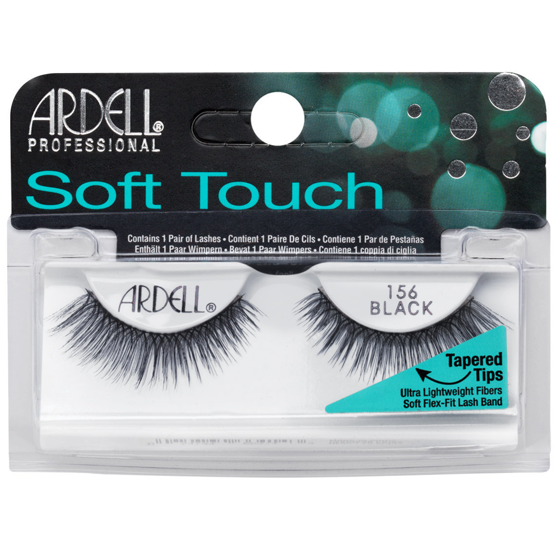 Ardell Soft Touch Lashes 156 Black alternative view 1.