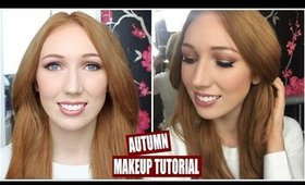 Autumn/Fall Makeup Tutorial!