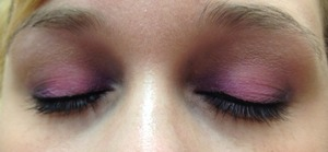 Pastel purple and pink
