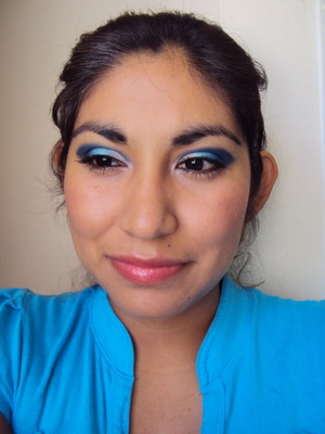 Feeling blue doesn't have to be a bad thing =)