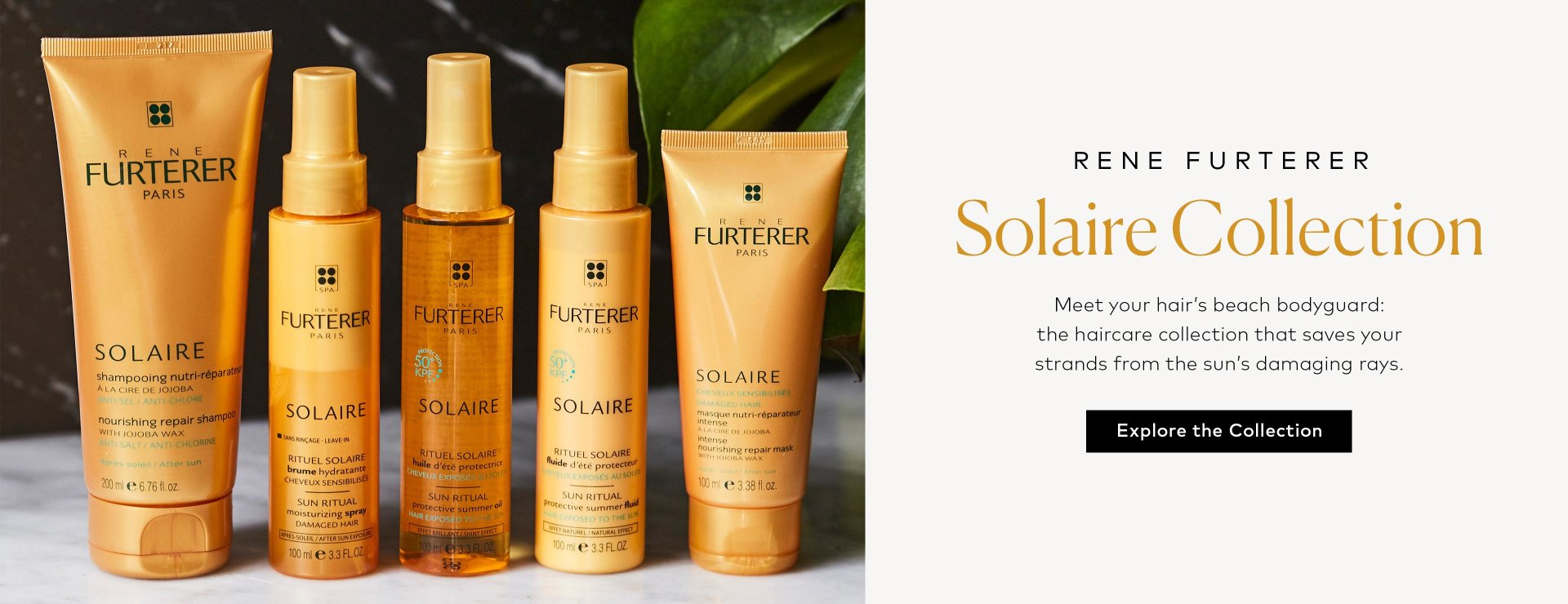 Shop Rene Furterer's Solaire Collection!