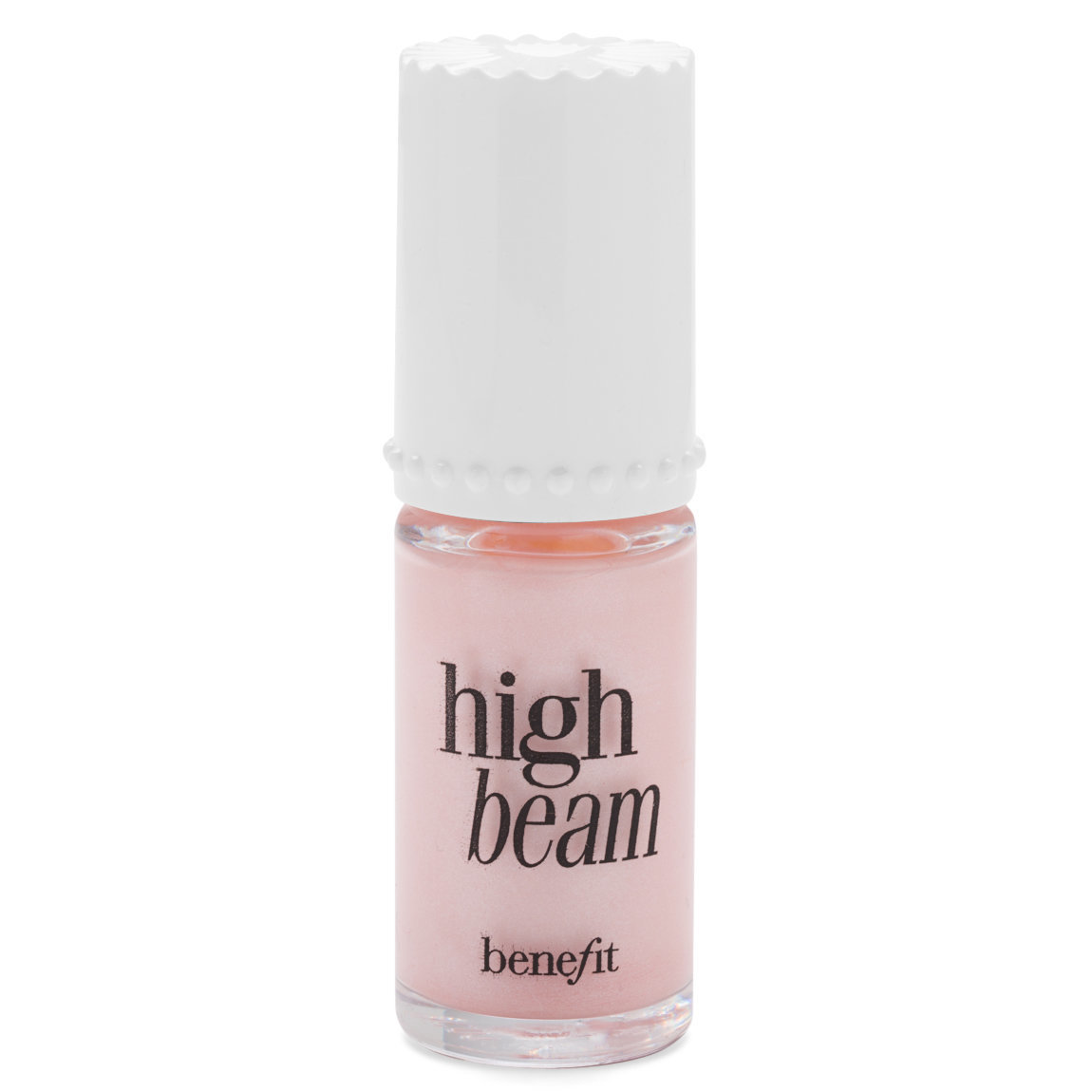Benefit Cosmetics High Beam Liquid Highlighter 6 ml product swatch.