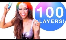 ★ 100 LAYERS of DRY SHAMPOO 💋  Hairstyles