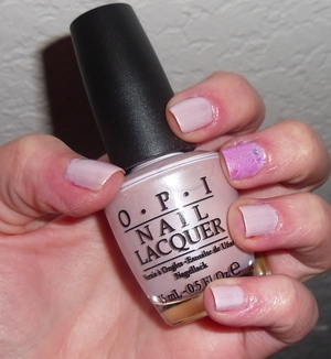 OPI Play the Peonies & I Lily Love You