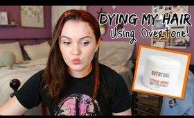 Dying My Hair Orange | Overtone Extreme Orange on Brown Hair
