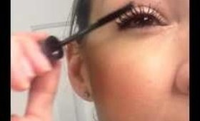 How to apply 3D Fiber Mascara