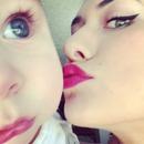 Kissing my son :)