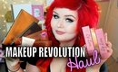 Makeup Revolution Affordable Beauty Haul