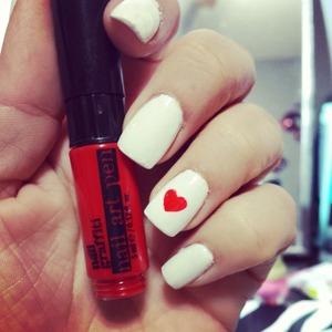 heart nails made easy