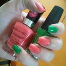 Watermelon Color Block