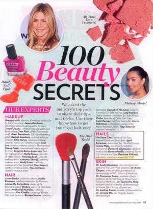 InStyle-2011 Best Beauty Secret-Nails