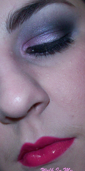 Pink and Grey Gallah Inspired Look
