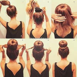 how-to sock bun!