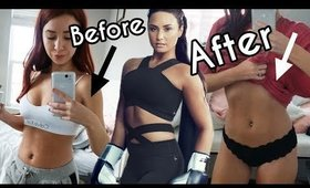 Trying Demi Lovato's Diet & Workout for a week!