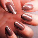 #Busygirlnails | Week 5 Dark Brown