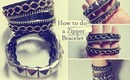 DIY: Zipper Bracelet Tutorial