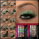 Green Glitter Tutorial