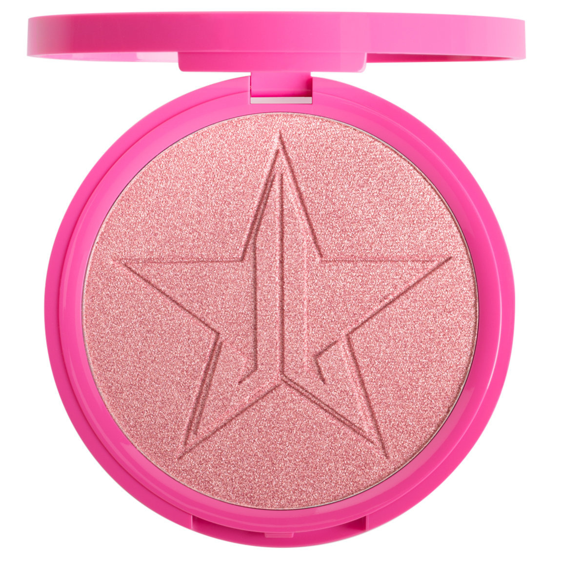 Jeffree Star Cosmetics Skin Frost Peach Goddess product smear.