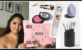 ShopMissA Haul! Brush Set Review, Lip Mask, Blushes, & MORE!!