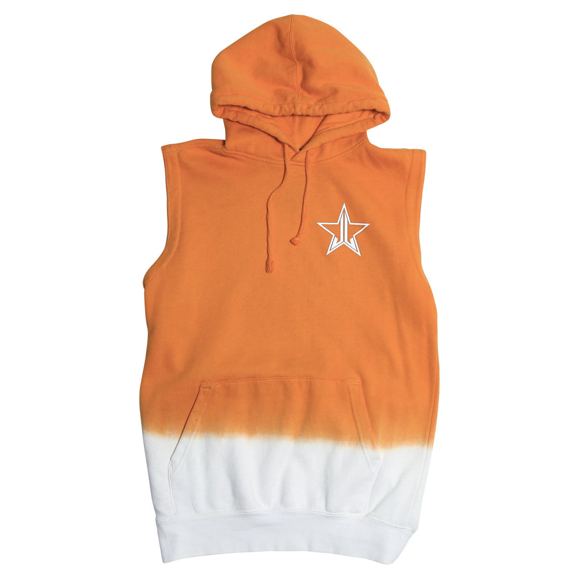Jeffree Star Cosmetics Creamsicle Sleeveless Hoodie Small product smear.